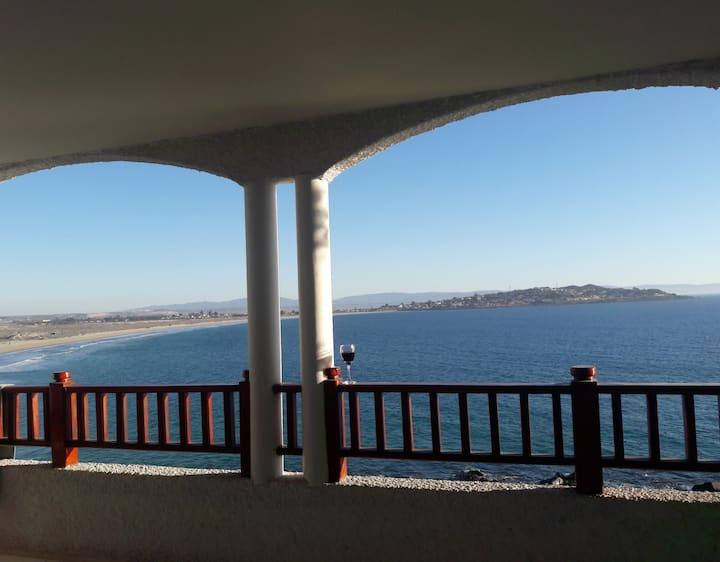 Puerto Velero, Departamento frente al océano.