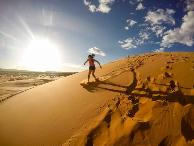 Coral Pink Sand Dunes- 20 min. drive
