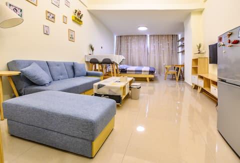 Newly renovated apartment near metro station 北欧小公寓