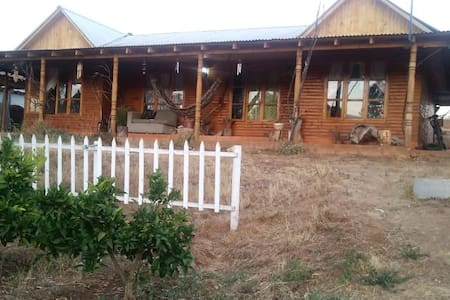 Casa de campo amoblada  ideal para el descanso.