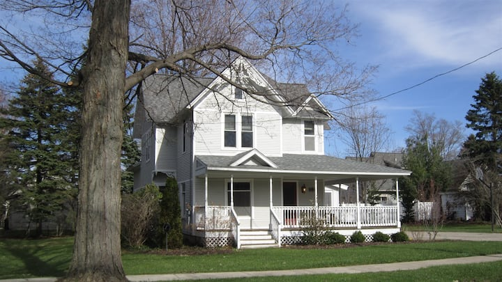 Gerber House: Savor the classic charm of this downtown Douglas beauty with a relaxing screen porch and convenient fenced-in backyard