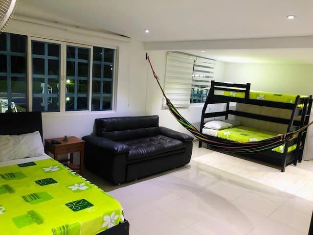 Habitaciones muy cómodas y bien dotadas