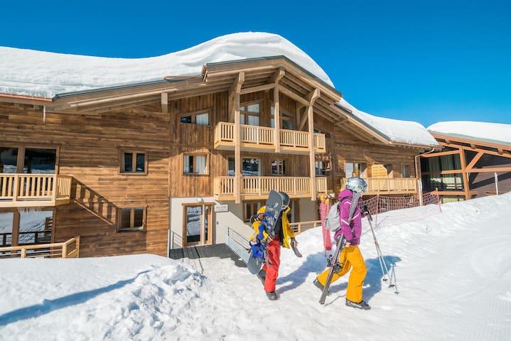 Appartement 6p Skis aux pieds