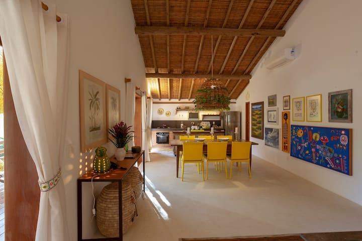 Etnia Casa Hotel - Villa Oriré para 6 Pessoas com Vista Jardim