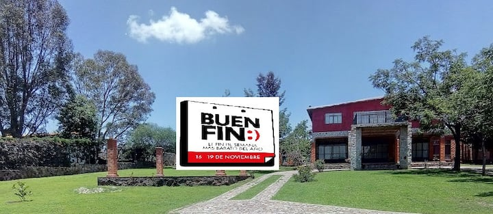 Quinta Alegre a pie de presa,pescadores y familias