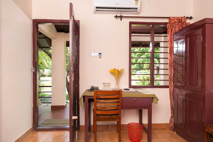 2 Basic Rooms In Kumarakom, Kerala  For 4 Persons