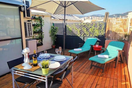 Lovely duplex penthouse in the Gracia.