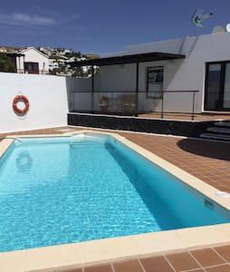 Casa con piscina Lanzarote nazaret - Nazaret,