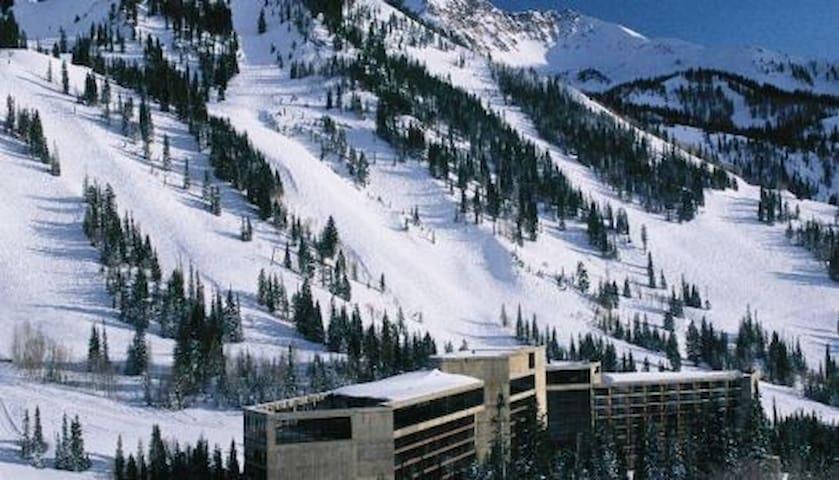 Cliff Club - Snowbird ski in/out MLK 2017 Jan14-21 - Sandy - Ortak mülk