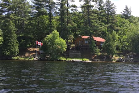 Island Cottage Paradise on Belmont Lake - Kisház