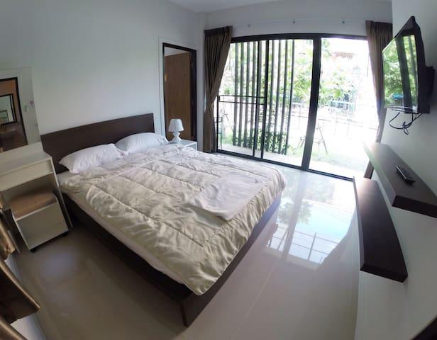 Grand house bedroom