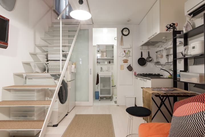 Just Listed! Loft (2-level) Style Designer's House - Meguro-ku - Huis