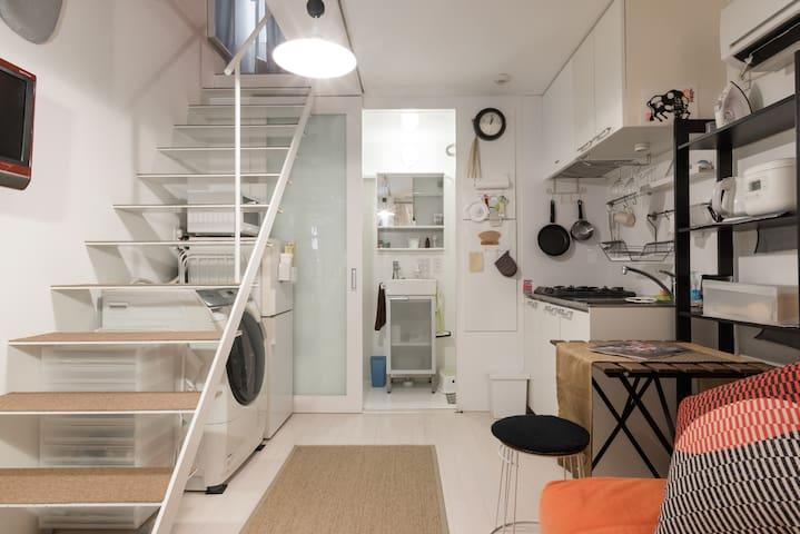 Just Listed! Loft (2-level) Style Designer's House - Meguro-ku - Hus