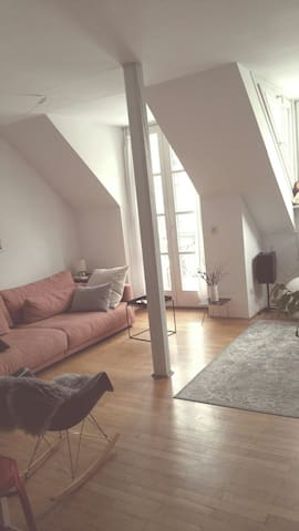 Beautiful, sunny apartment in the city centre