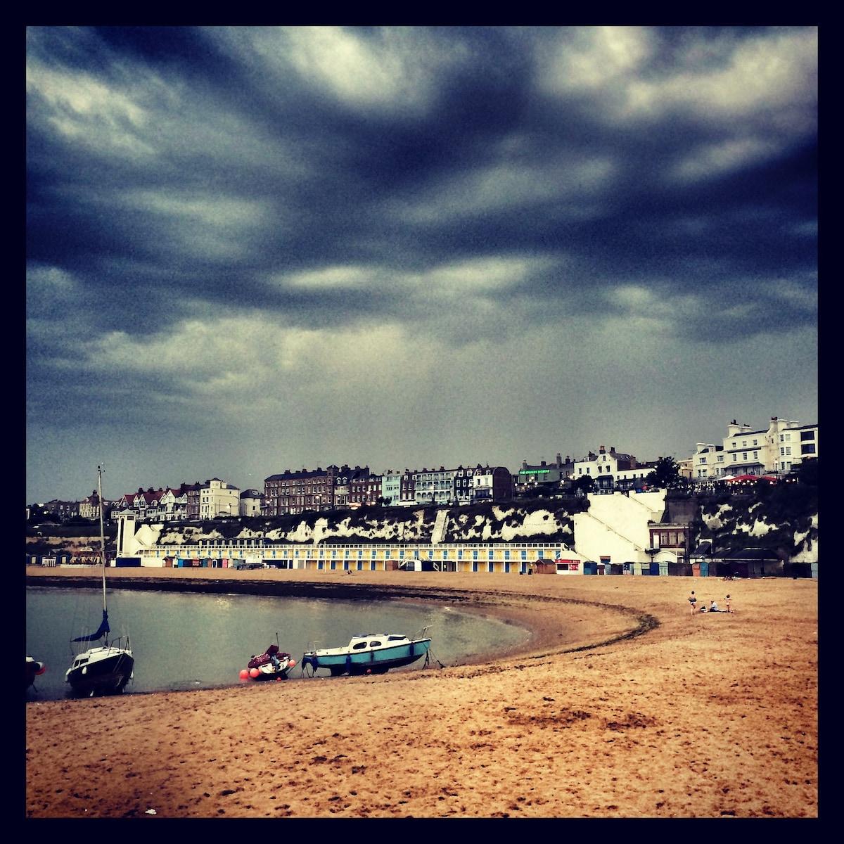 9 Viktorianische von Margate Strand Kingsgate Schloss Fort Hafen Strand 9 Fotos