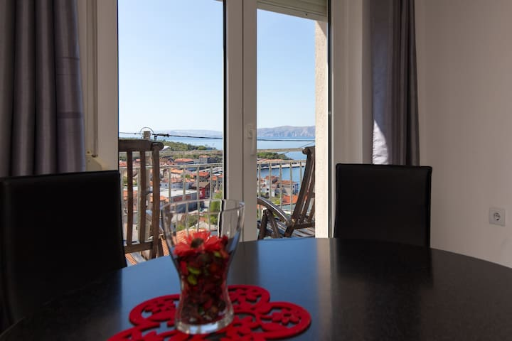 """ALLEGRA""  SPECTACULAR VIEW APARTMAN FOR 2+2 - Senj - Huoneisto"