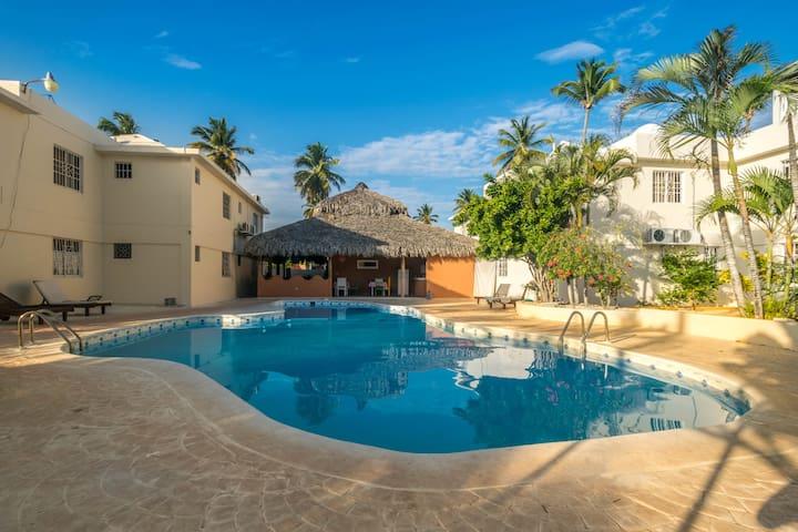 Habitación privada para dos persona - Punta Cana
