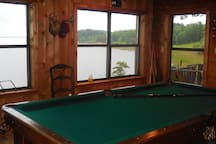 View from guest recreation room