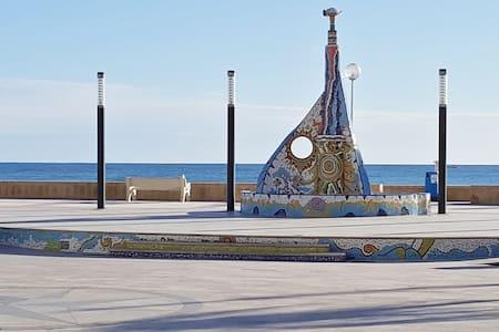planta baja con aparcamiento 20m de playa Daimus - Daimús