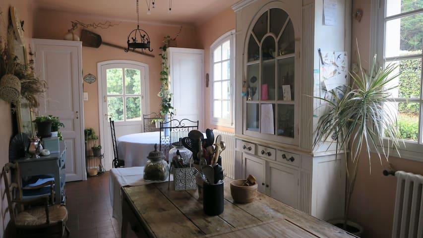Villa au calme, Anglet/Biarritz, jardin et parking