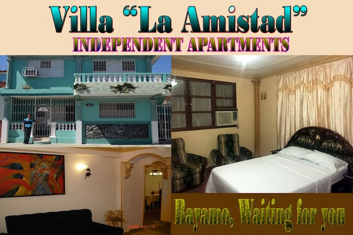 "Beautiful apartment , Villa ""LA AMISTAD"". Bayamo."