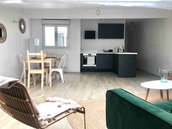 T3 lumineux - 78m2 - Bordeaux centre - Chambre