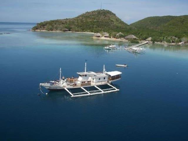 A Comfy Seaview Bungalow few steps to the sea!!! - Busuanga - Bangalô