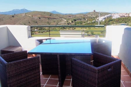 Beautiful appartment with stunning mountain views - Alhaurín el Grande - 公寓