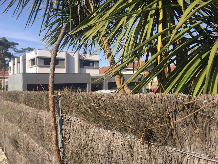 Anglet plages Chiberta, T2 près golfs, tennis surf