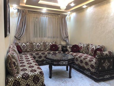 Bel appartement bien équipé pour location