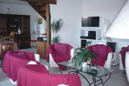 Chambre Nature + table d'hôte - Châtillon-sur-Indre - Guesthouse