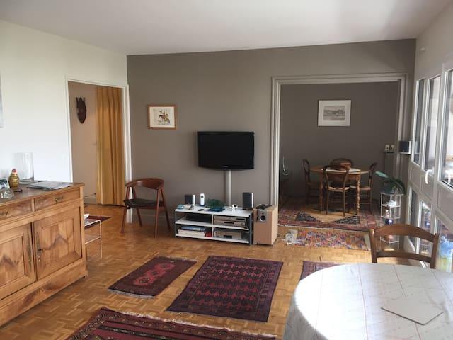 Un appartement clair et lumineux