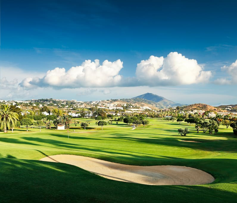 Golf Valley of Nueva Andalucia, only 5 minutes from the property.