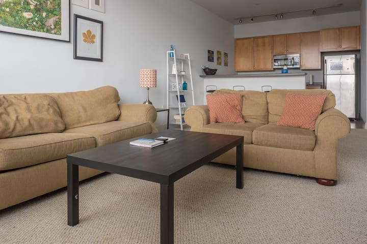 Spacious Townhome + Parking | Walk to Dining