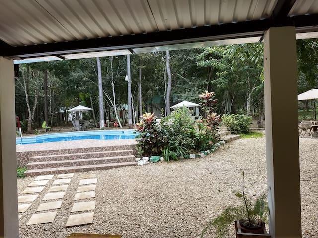 Casa de campo en Petén