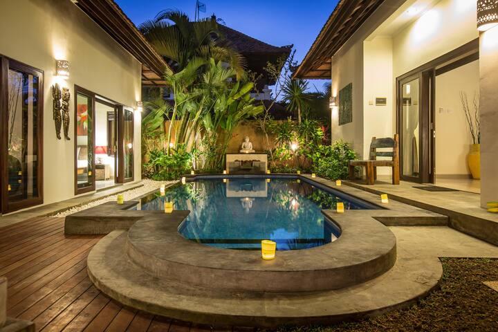Reasonable & comfortable 1‐2BR Cozy Private Villa - Kuta - Apartment
