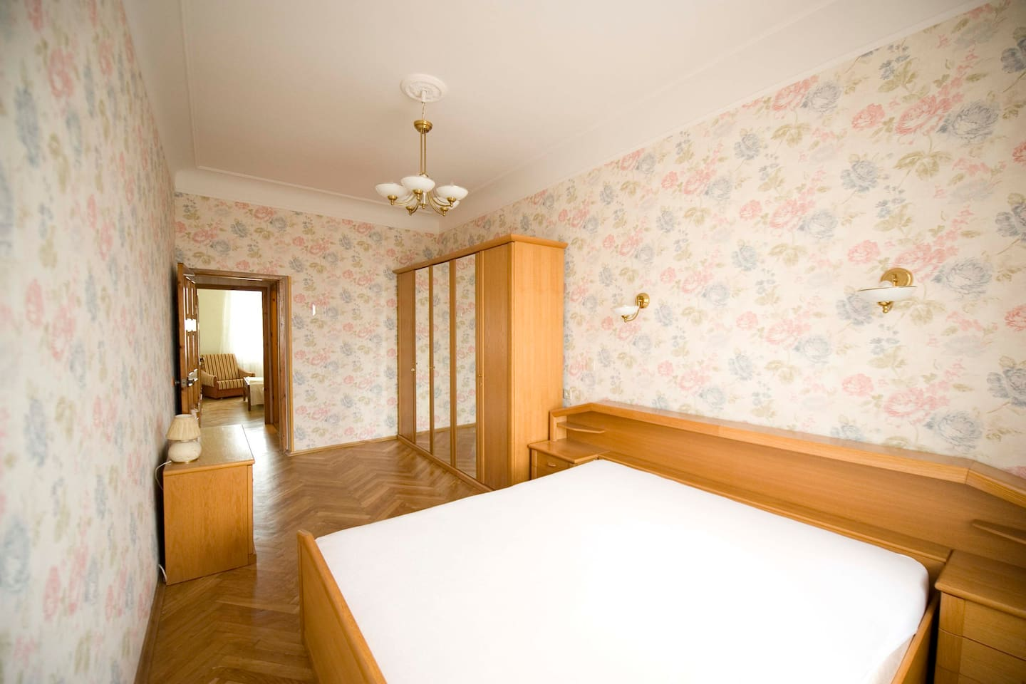 Bedroom 1, view from the window