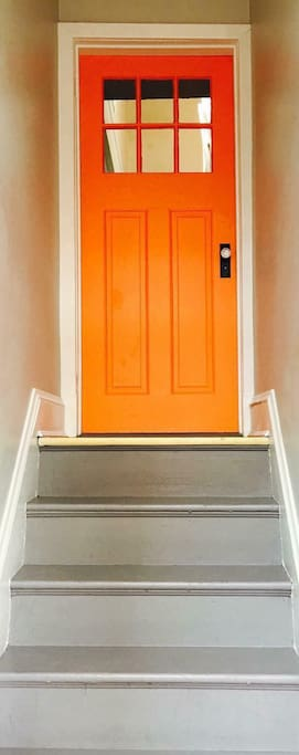 Look for the Orange Door