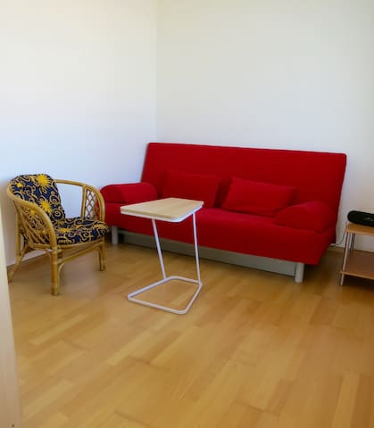 Schlafzimmer 2 mit 140 X 200 cm Ikea-Schlafsofa