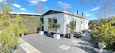 Vakantiehuis Klein Geluk met jacuzzi bij de Veluwe