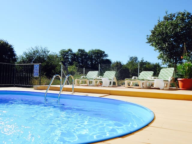 Family Friendly Home Vila Stela with Private Pool - Tinjan - Dům