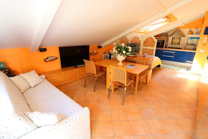 Charming attic in the heart of Sorrento