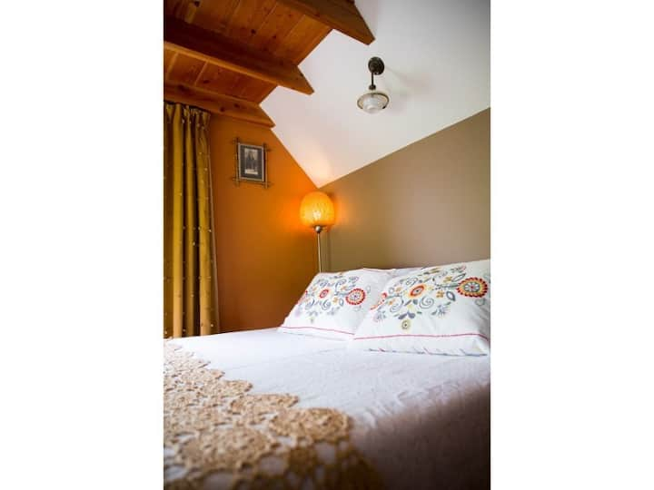 Siwa is our smallest room with a wide view over the nature reserve.