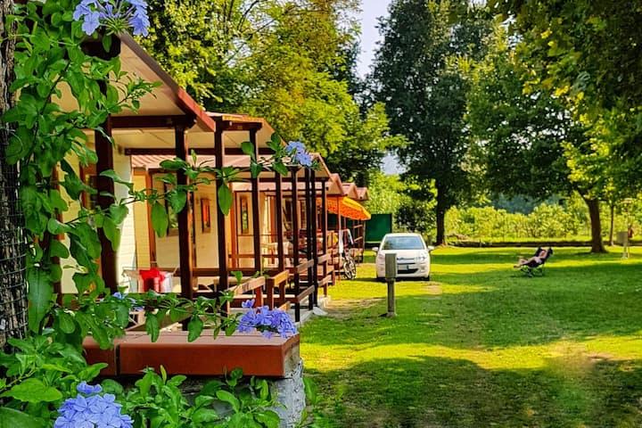 Casa mobile 2 posti letto con wifi e parcheggio