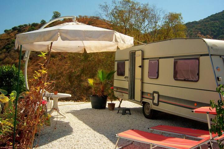 Caravan (WiFi), in nature reserve
