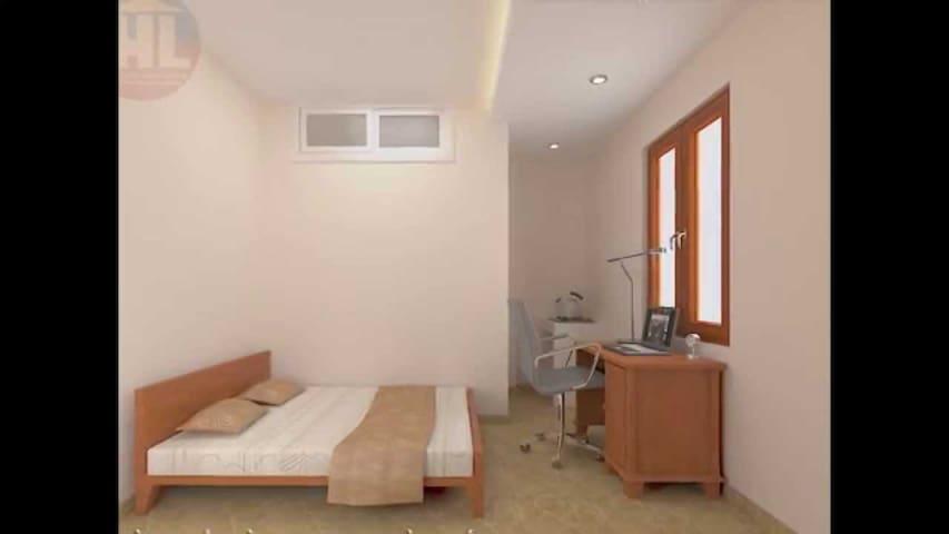Private room near city square