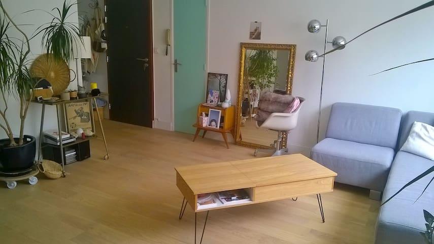 Salon cosy et spacieux