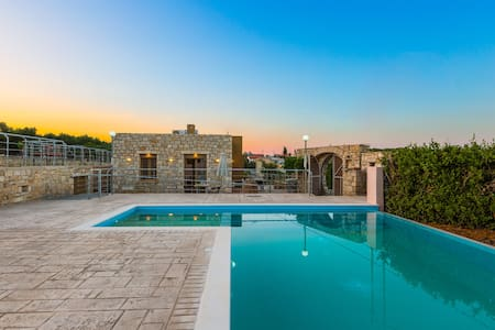 Villa Evgoron - Brand New Villa in Cretan Nature - Zouridi - Vila