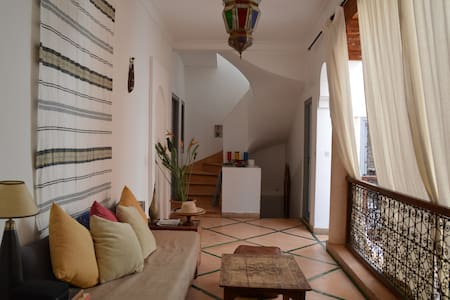 Room in a Elegant Riad in most Safe & Quite area - Marrakesh