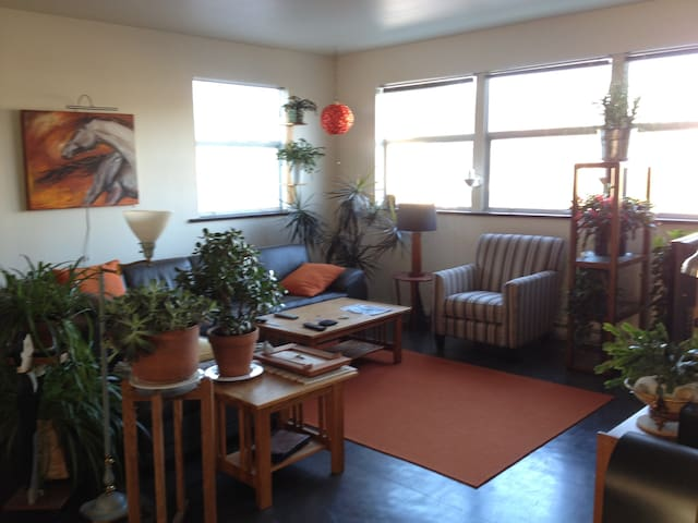 Cozy & comfortable loft-style apartment - Courtenay - Leilighet